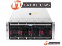 HPE PROLIANT DL580 G9 GEN9 SERVER TWO E7-8870V3 2.1GHZ 32GB 600GB 10K
