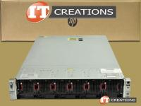 HP PROLIANT DL560 G8 SERVER TWO E5-4640 8C 2.40GHZ 16GB 300GB 10K SAS